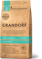 GRANDORF 4Meat & Brown Rice Adult All Breeds