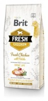 Brit Fresh Chicken/Potato Adult Great Life, 12кг