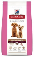 Hill's Science Plan Canine Adult Small & Miniature Lamb with Rice 1,5 кг