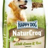 Happy dog Natur Croq Rind&Reis, 15 кг
