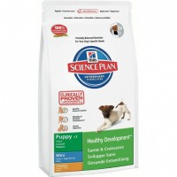 Hill's Science Plan Canine Puppy Mini с курицей, 3 кг